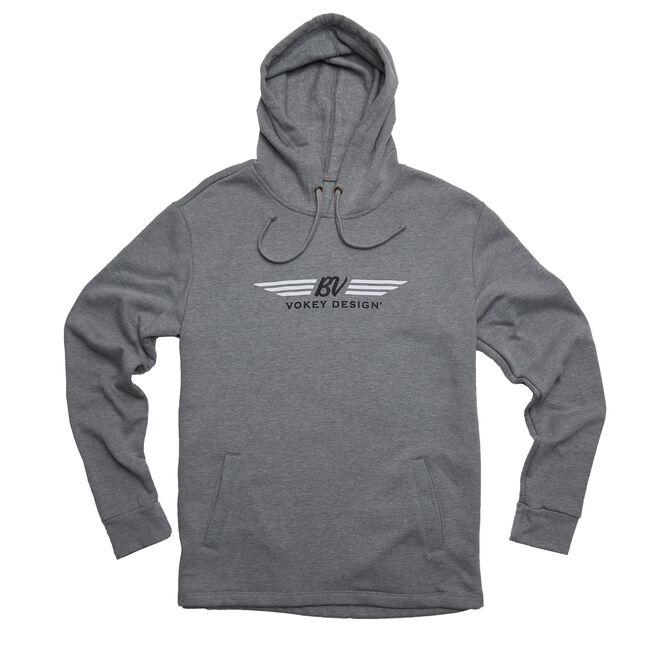 BV Wings Pullover Hoodie - Grey