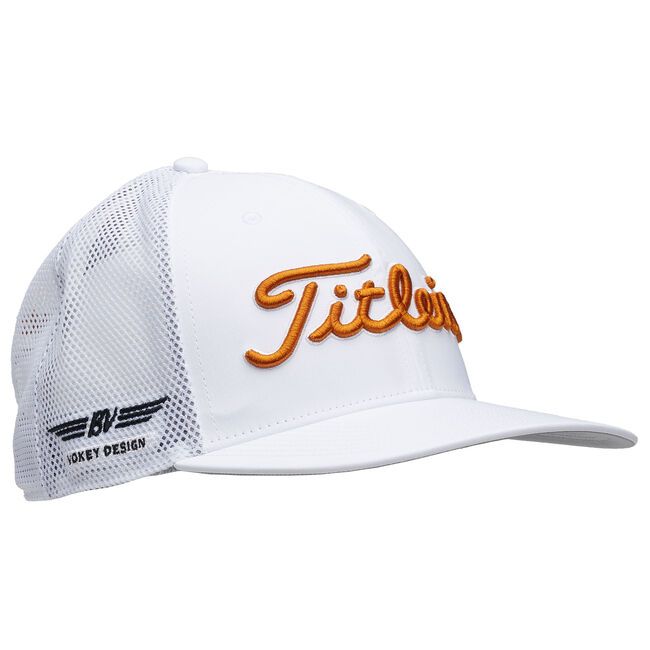 Vokey Tour Snapback Mesh - White/Burnt Orange