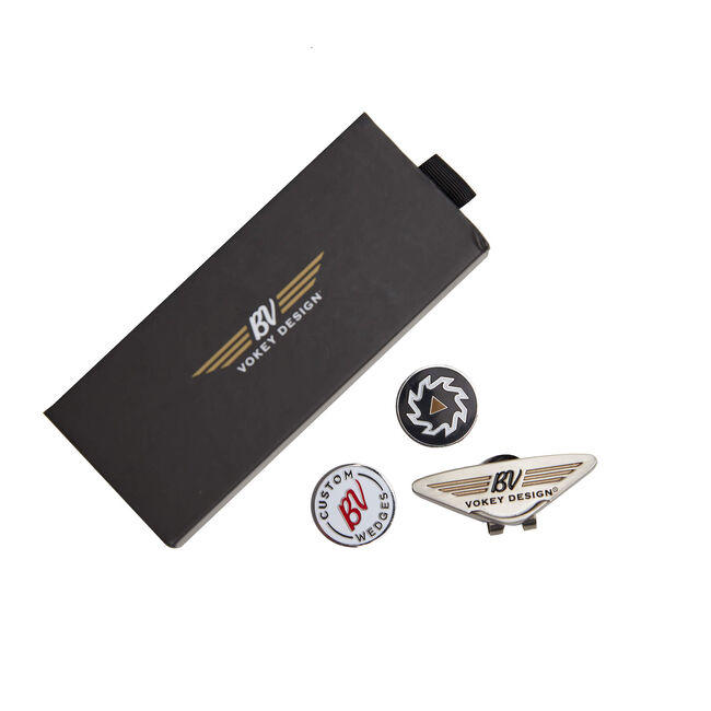 BV Wings Headwear Clip & Ball Marker Kit