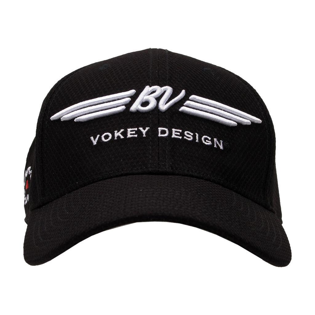 BV Wings Dobby Tech Cap - Black - Vokey 6c651897dd4f