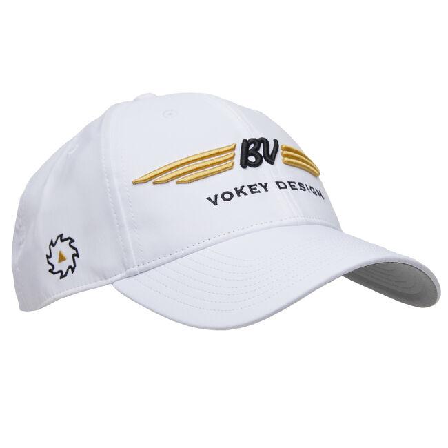 BV Wings Tour Performance Cap - White/Gold/Black