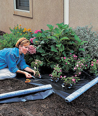 Weed Shield Premium Landscape Fabric Gardening Supplies And Garden Tools At Burpee Com