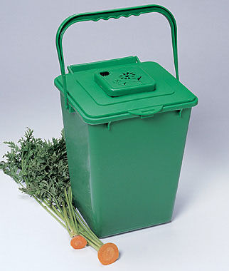Kitchen Compost Pail Composting Gardening Supplies At