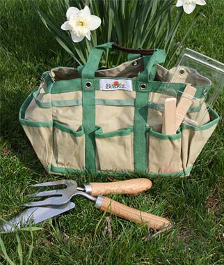 Gardener 39 s tool time gift set holiday gardening gifts at for Gardening tools gift set
