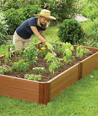 4 39 X8 39 Complete Double Level Raised Bed Gardengardening Supplies At