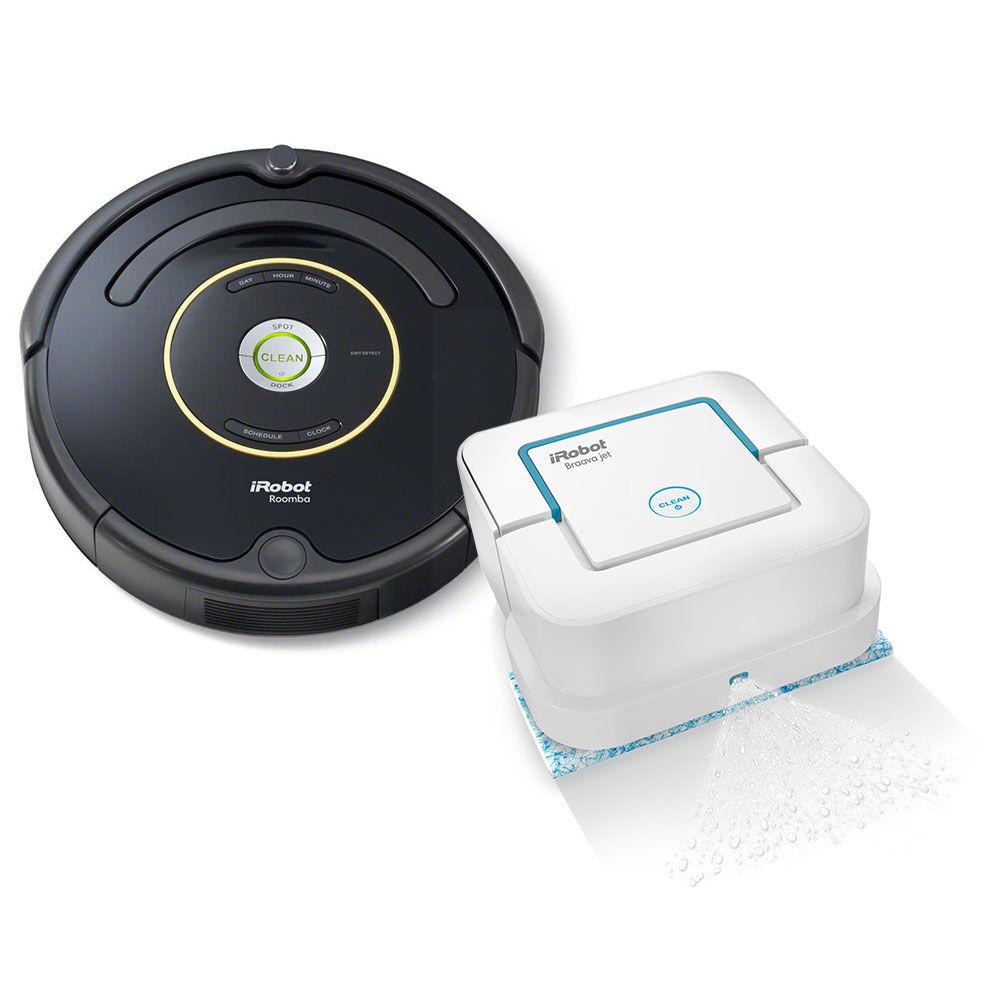 Resultado de imagen para Roomba y Braava