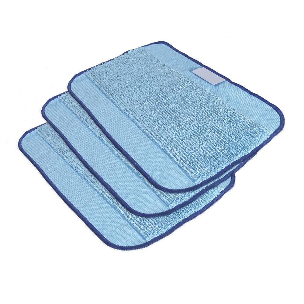 3 paños de textura azul Pro-Clean para fregado