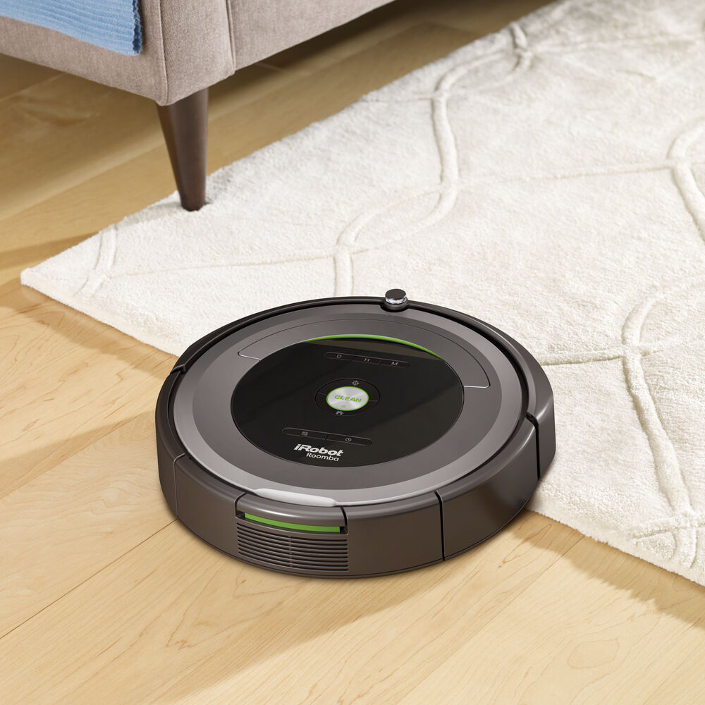 roomba 681 robot aspirateur irobot. Black Bedroom Furniture Sets. Home Design Ideas