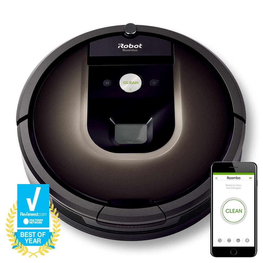 roomba 980 robot vacuum irobot. Black Bedroom Furniture Sets. Home Design Ideas