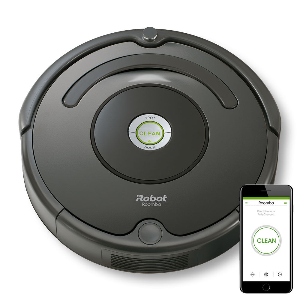 roomba 676 robot aspirateur irobot. Black Bedroom Furniture Sets. Home Design Ideas