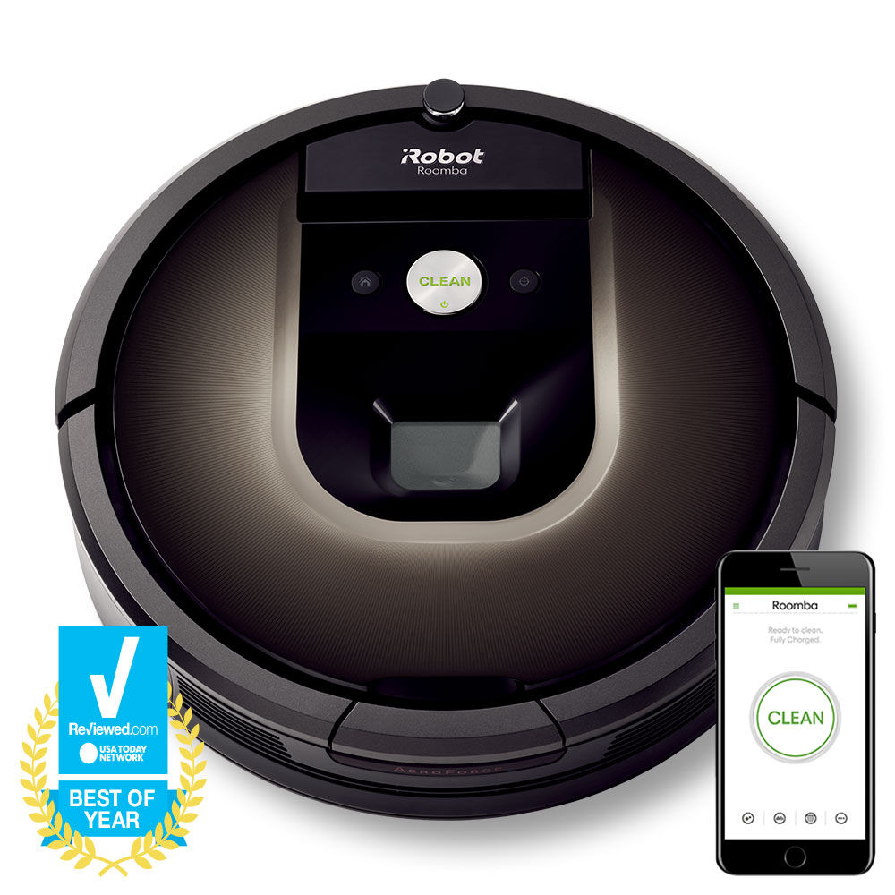 Roomba 980 with Smart Phone