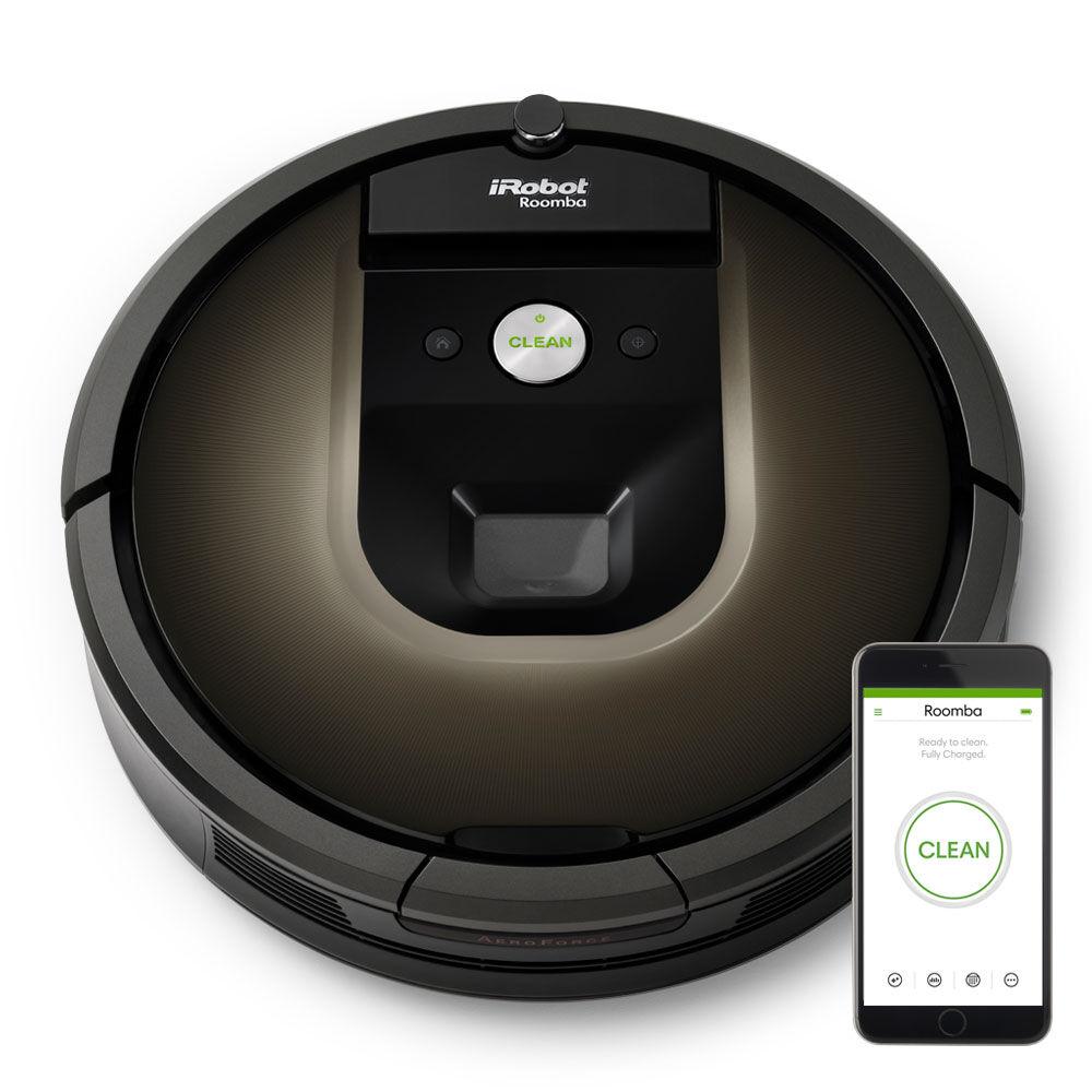 Roomba 980 robot vacuum irobot for Robot sweepy
