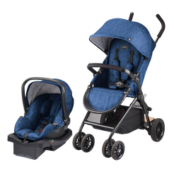 Sibby Travel System (Slate Blue)