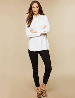 BOUNCEBACK Skinny Ankle Post-Pregnancy Pants, Black