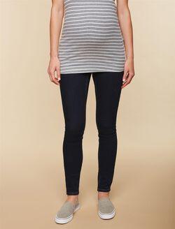Secret Fit Belly Stretch Skinny Maternity Jeans, Dark Wash