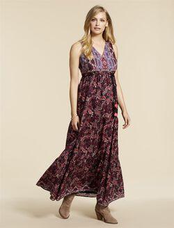 Jessica Simpson Tie Detail Maternity Dress, Multi Print