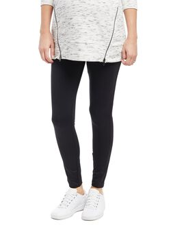 Secret Fit Belly Maternity Performance Legging, Black