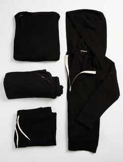 Monrow Hospital Bag 4 Piece Set, Black
