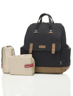 Babymel Robyn Backpack Diaper Bag– Black, Black