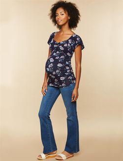 Secret Fit Belly Stretch Boot Cut Maternity Jeans, Medium Wash