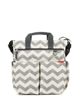 Skip Hop Duo Signature Diaper Bag, Dot