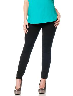 Petite Secret Fit Belly Skinny Leg Maternity Pants, Black