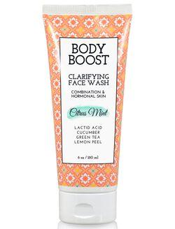 Basq Body Boost Face Wash, Citrus Mint
