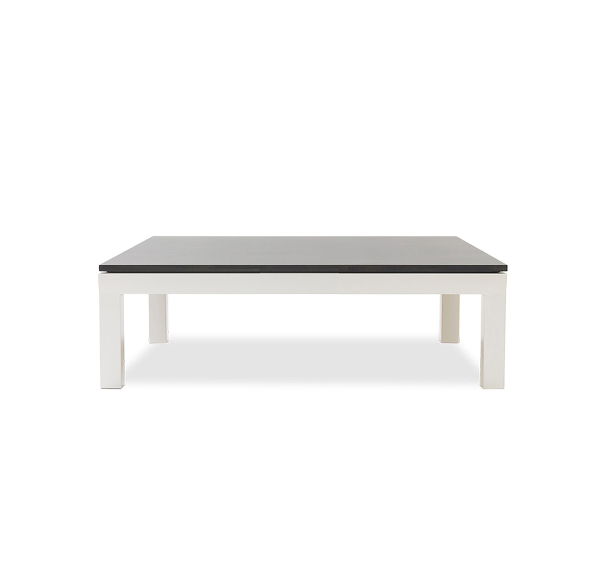classic parsons cocktail table powder white. Black Bedroom Furniture Sets. Home Design Ideas
