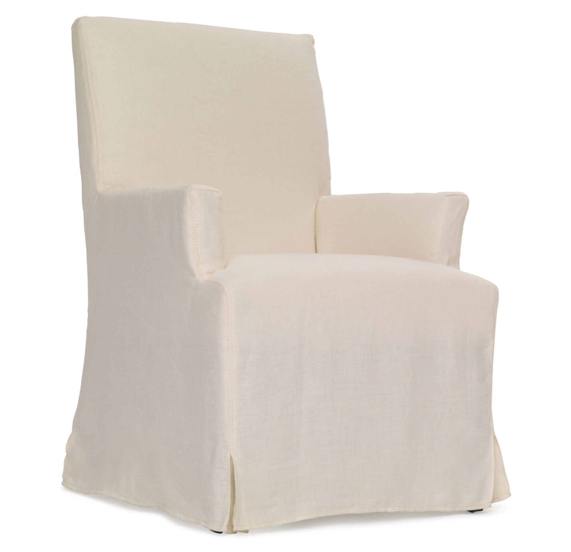 JULIA TALL ARM DINING CHAIR - SLIPCOVER